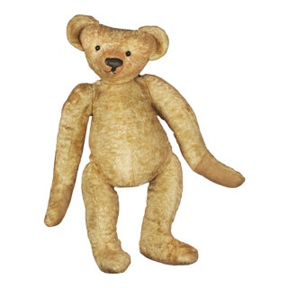1920s Vintage English Teddy Bear For Sale