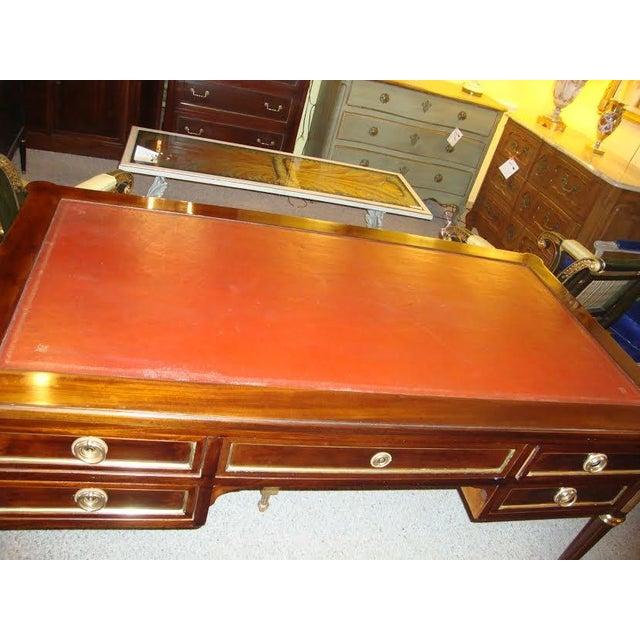 Maison Jansen Louis XVI Style Leather Top Desk - Image 3 of 8