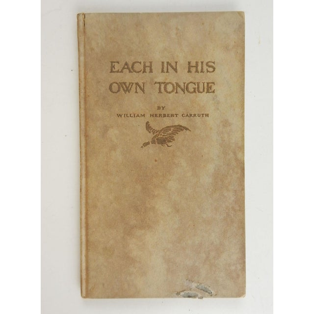 Each in His Own Tongue Book For Sale In San Antonio - Image 6 of 6