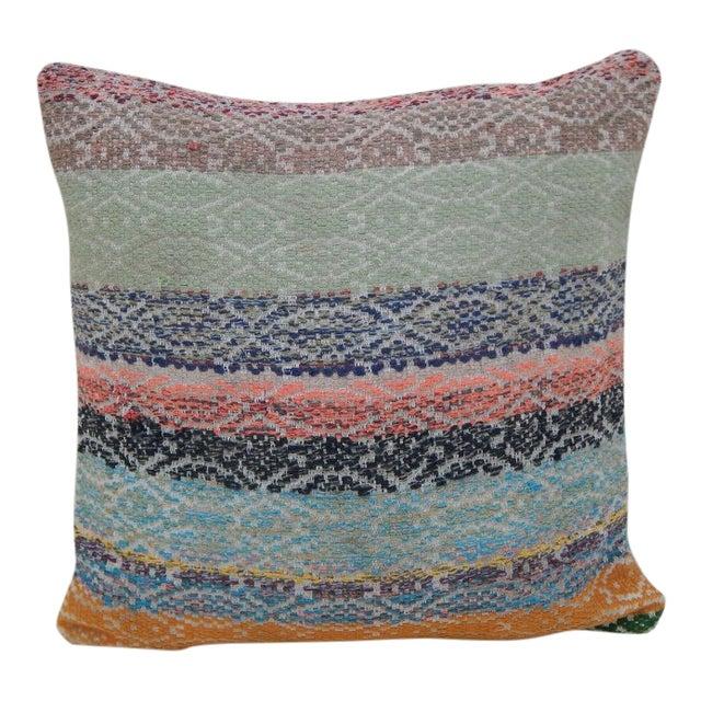 Handmade Turkish Kilim Pillow For Sale