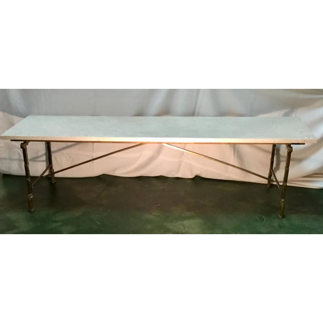 Vintage Hollywood Regency Coffee Table For Sale - Image 4 of 13
