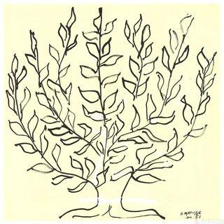 "Henri Matisse ""Le Buisson/Platane"" 2017 Lithograph"
