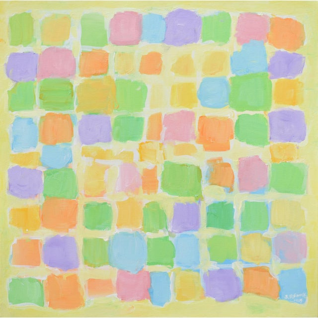 "Stephen Remick ""Sprout"" Contemporary Abstract Painting For Sale - Image 10 of 10"