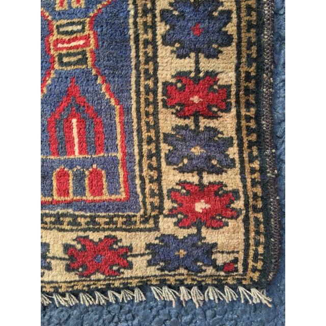 "Vintage Persian Baluchi Rug - 2'10""x4'9"" - Image 9 of 10"
