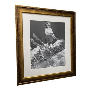 Vintage Photo: Olympic Skier Andrea Mead Lawrence by George Silk For Sale