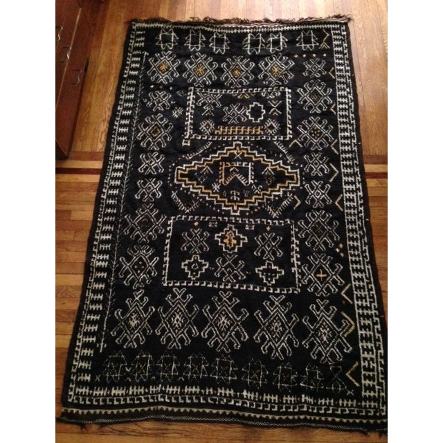 Antique Berber-Style Moroccan Rug - Image 5 of 5
