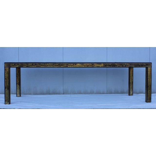 1970's Bernhard Rohne for Mastercraft Dining Table - Image 3 of 9