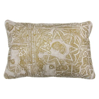 """Tulu Gold """"Timor"""" Pillow For Sale"""