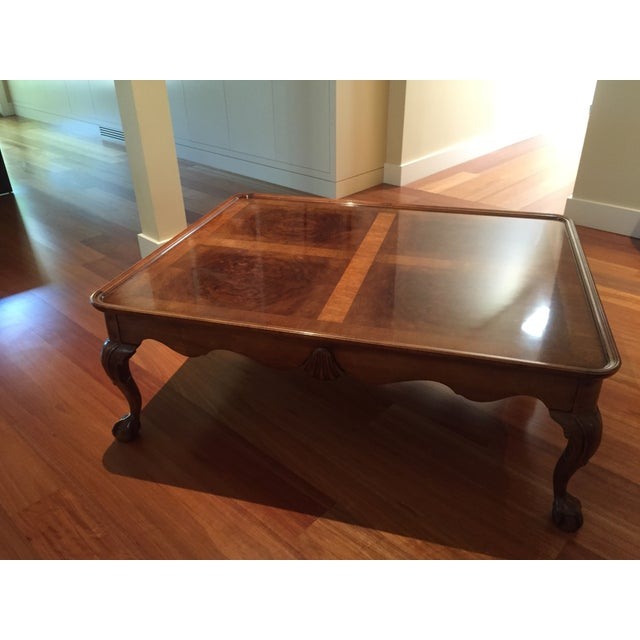Chippendale Style Henredon Mahogany Coffee Table - Image 9 of 9