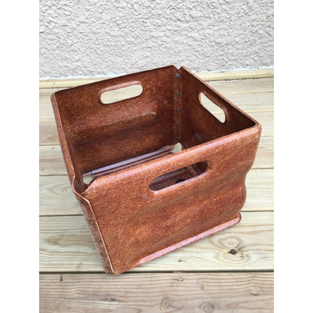Industrial Modern Fiberglass Factory Tote For Sale In Chicago - Image 6 of 7