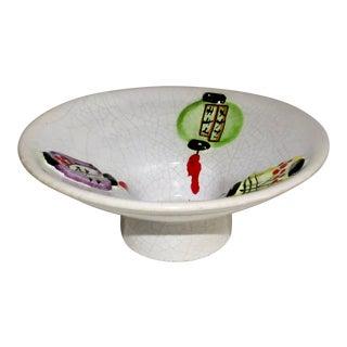 Decorative Italian Ceramic Bowl For Sale