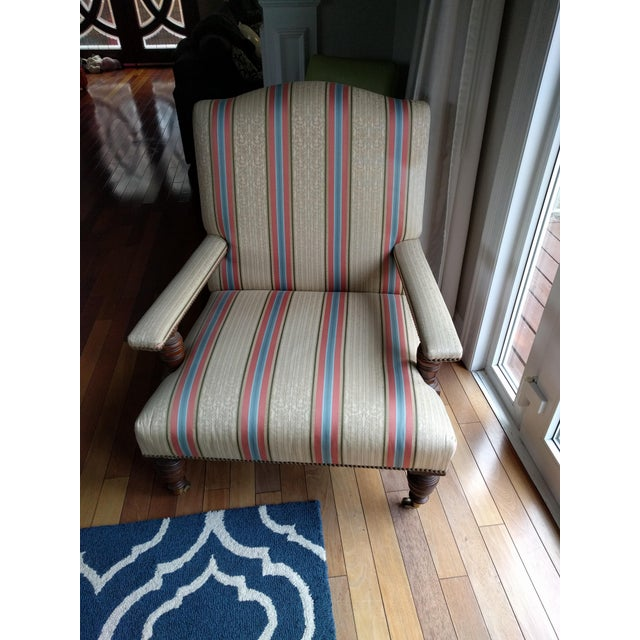 Lee Jofa Hollyhock Folly Chair - Image 2 of 4