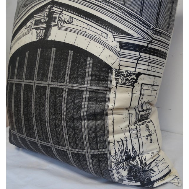 Architectural Print Pillow - Image 3 of 5