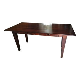 1950s Vintage Mid-Century Modern Work Table/Desk For Sale