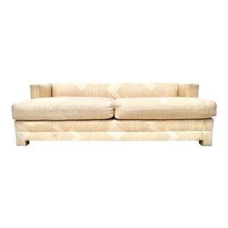 1970s Billy Baldwin Tuxedo Sofa For Sale