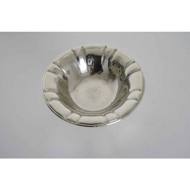 Art Deco Oneida Silversmiths Pedestal Bowl For Sale - Image 3 of 5