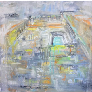 """""""Chelsea"""" by Trixie Pitts Abstract Expressionist Oil Painting For Sale"""
