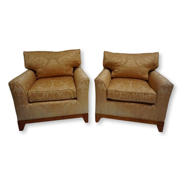 Fortuny Style Club Chairs-A Pair For Sale - Image 10 of 10