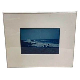 19th Century Antique Cyanotype of Cape Cod For Sale