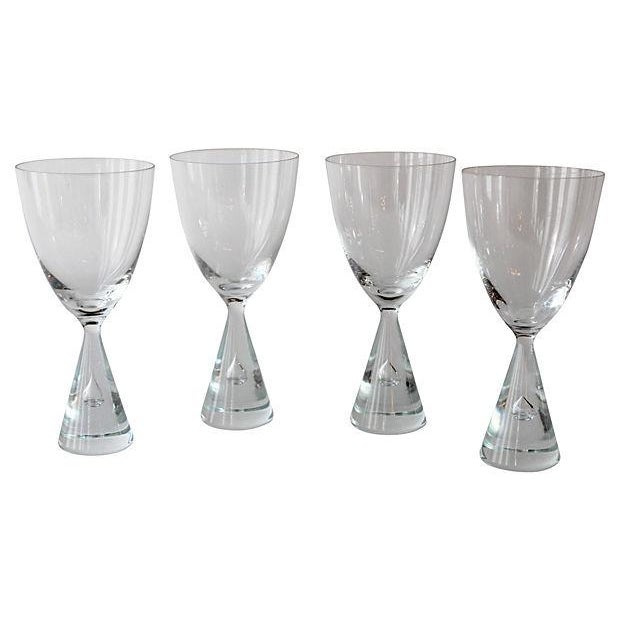 MCM Holmegaard Wine Glasses - S/4 - Image 1 of 2