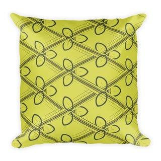 Modern Gimlet Throw Pillow For Sale