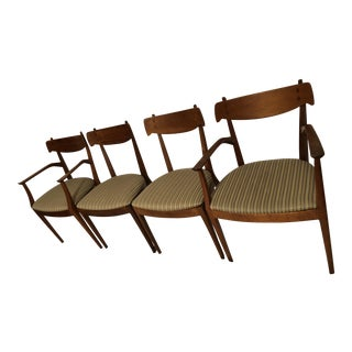 Kipp Stewart for Drexel Mid-Century Modern Dining Chairs - Set of 4