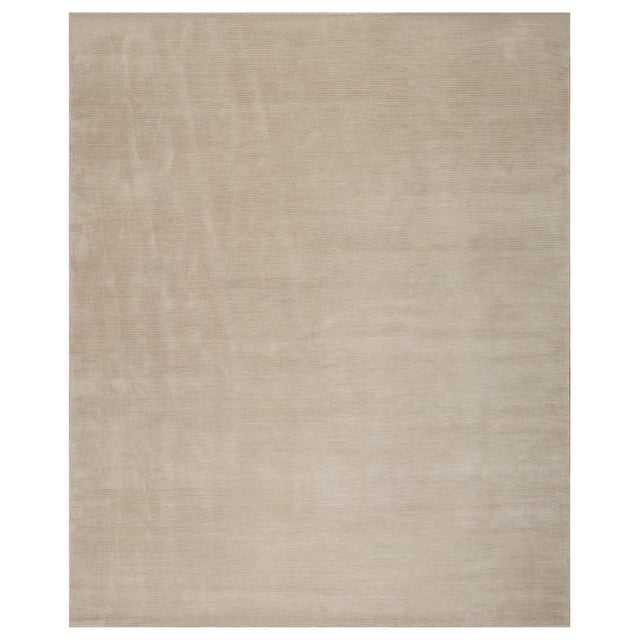 2010s Stark Studio Rugs Contemporary Oriental Silk and Wool Rug - 10' X 14' For Sale - Image 5 of 5