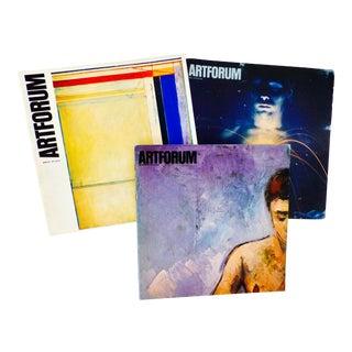 1976-1977 Artforum Magazines - Set of 3