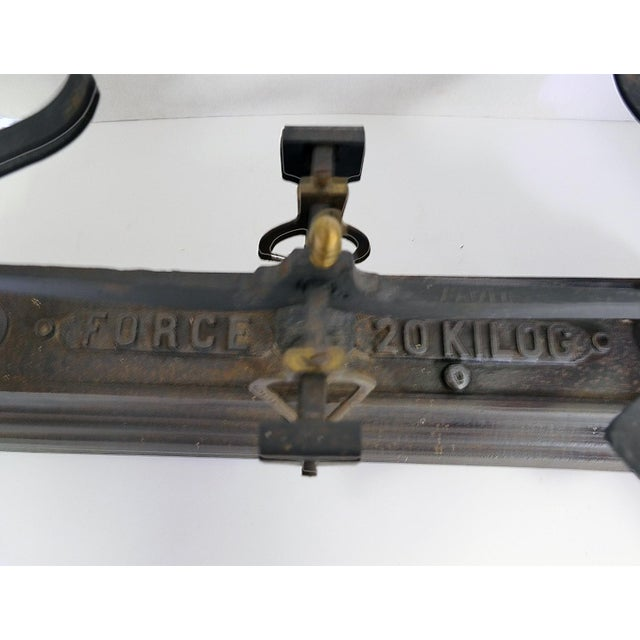 French Vintage Iron Scale - Image 5 of 6