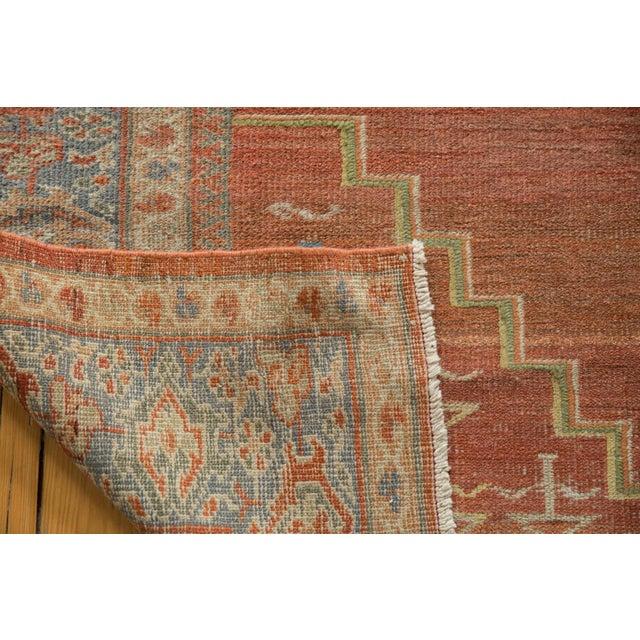 "Vintage Distressed Mahal Carpet - 6'5"" X 9'2"" For Sale - Image 11 of 13"