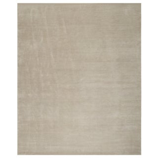 Stark Studio Rugs Contemporary Oriental 60% Silk/40% Wool Rug - 5' X 7' For Sale
