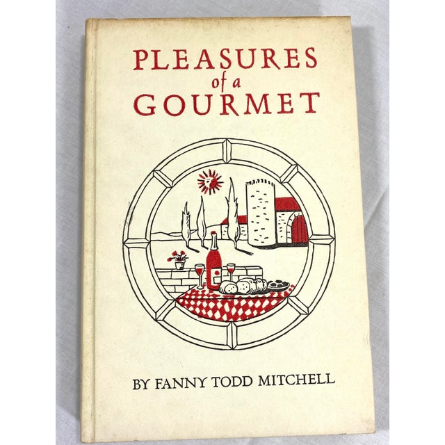 """Illustration 1960s """"Pleasures of a Gourmet"""" Cookbook For Sale - Image 3 of 13"""