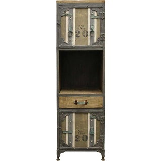 Khaki Industrial Cabinet