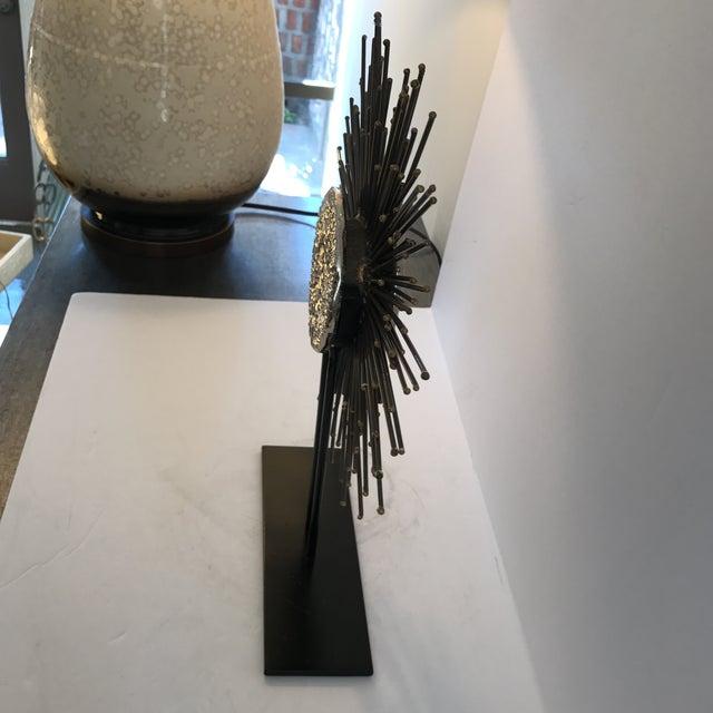 Modern Sunburst Sculpture - Image 5 of 6