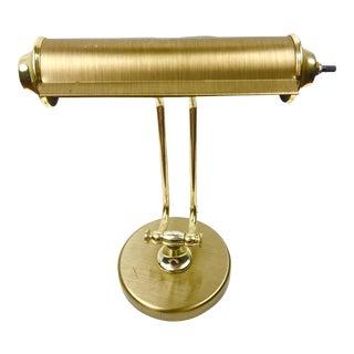1960s Brass Desk Lamp For Sale