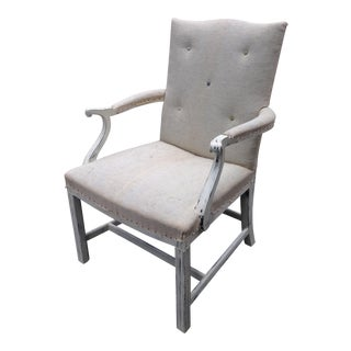 Deconstructed High-Back Armchair For Sale