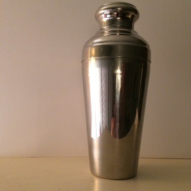 Vintage 22 Ounce Stainless Steel Cocktail Shaker - Image 5 of 11