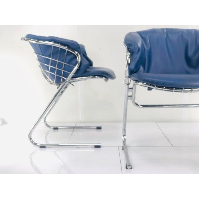 1960s Vintage Italian Gastone Rinaldi Chairs - Set of 4 For Sale - Image 9 of 13