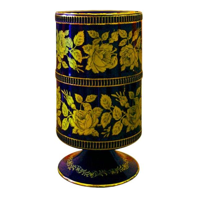 Vintage Italian Art Porcelain Hand Made Object-2 For Sale