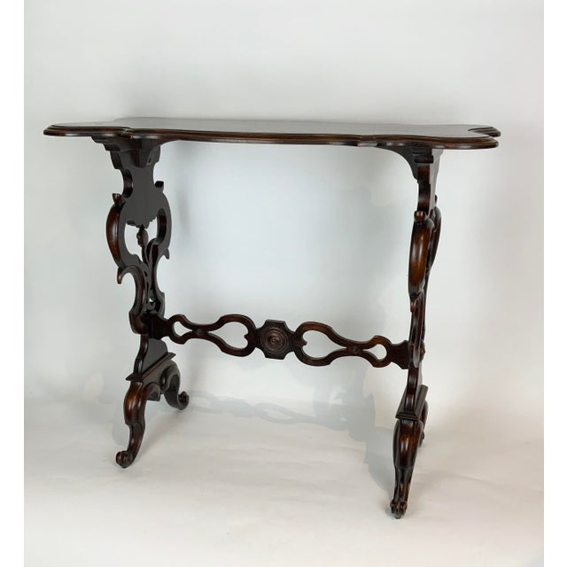 19th Century Victorian Side Table For Sale - Image 13 of 13
