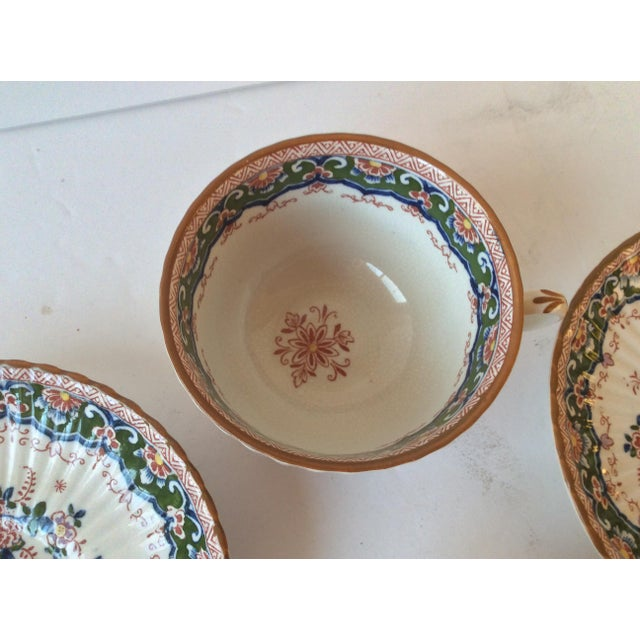 """Booths """"Old Dutch"""" Cup & Saucers - Set of 4 - Image 9 of 11"""