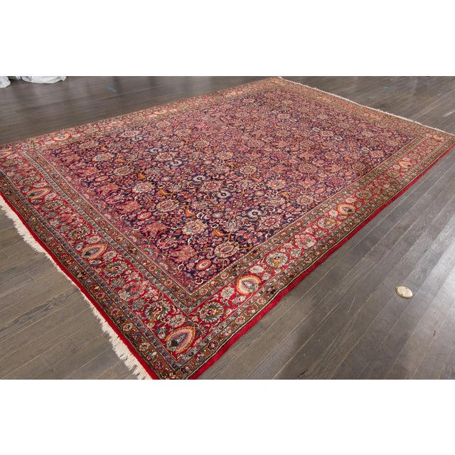 Apadana-Persian Rug - 8′5″ × 12′4″ For Sale - Image 4 of 4