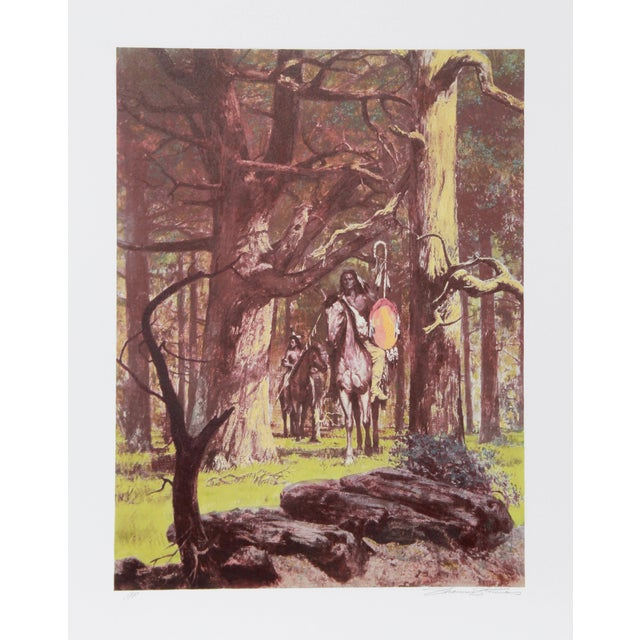 Shannon Stirnweis, Woodland Venture, Lithograph For Sale
