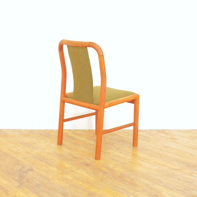 1960s Vintage Danish Teak Dining Chairs - Set of 6 For Sale In San Francisco - Image 6 of 11
