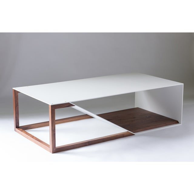 The Aluminum Cortado takes the original Cortado coffee table design and inverts the materials. Welded and powder coated...