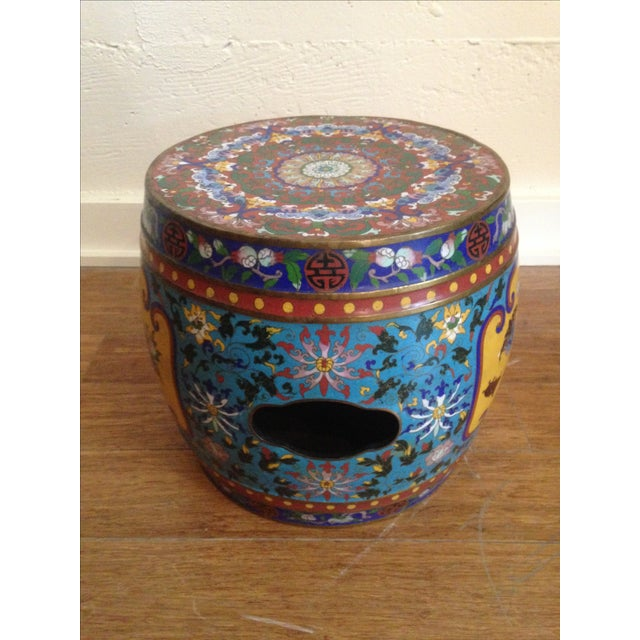 19th Century Chinese Cloisonne Garden Stool - Image 3 of 7