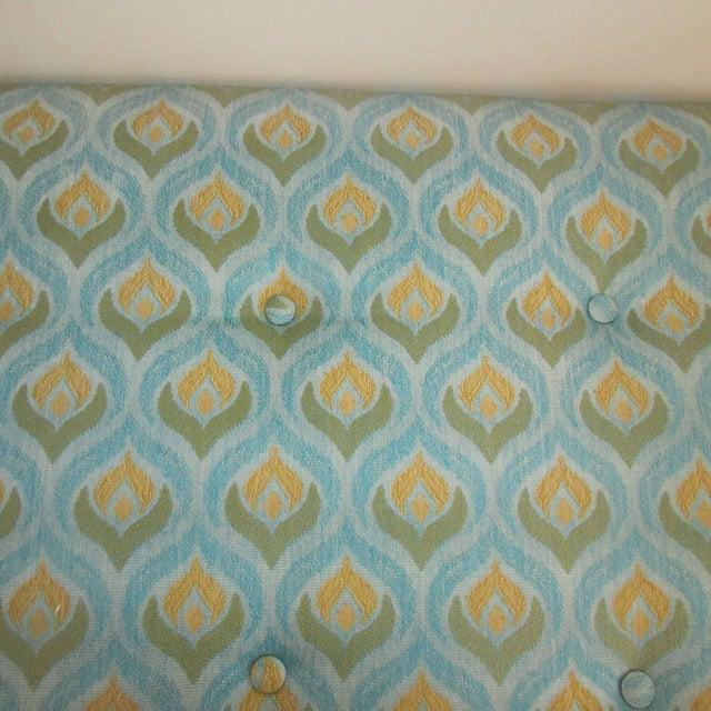 Custom Upholstered Bench For Sale - Image 4 of 7