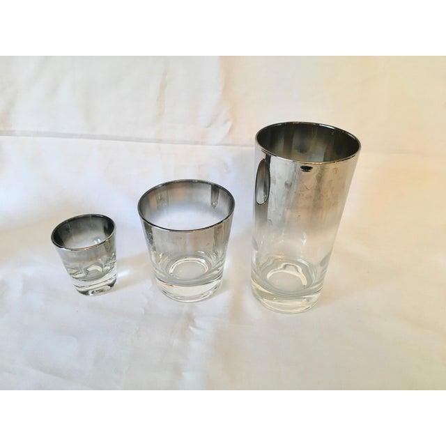 Mid-Century Dorothy Thorpe Style Drinking Glasses - Set of 8 - Image 8 of 9