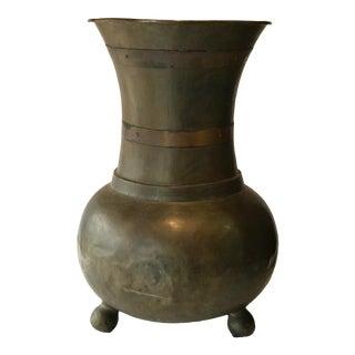 Brass Urn Umbrella Bucket For Sale