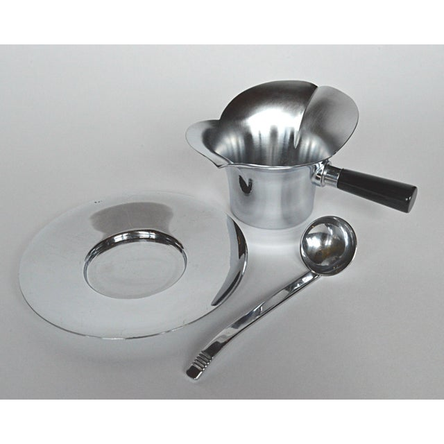 Chase 3-Piece Lotus Gravy Set For Sale - Image 6 of 7